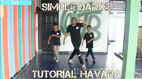 tutorial dance havana tutorial simple dance havana cojb43 dance youtube