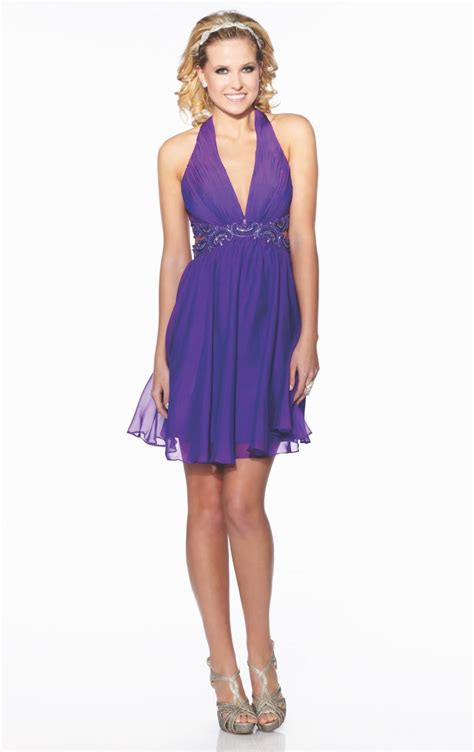purple party dress philippines purple chiffon sexy cocktail dress v neck open back beaded