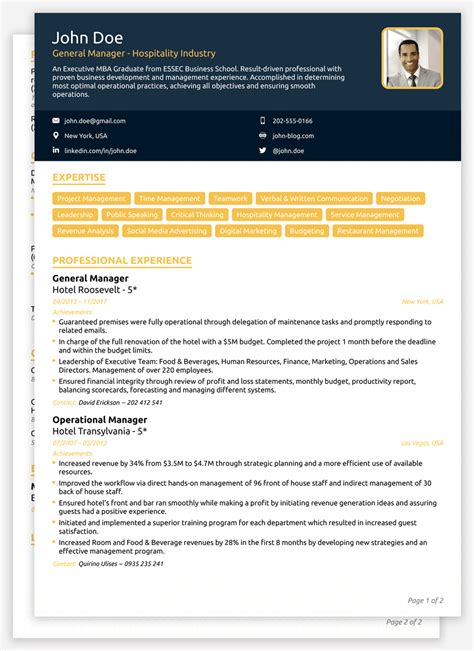 20 Best Creative Resume Templates Exles Best Winning Cv Templates For 2018 Edit