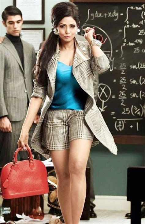 sridevi model photo video is she really 49 sridevi looks drop dead gorgeous in a