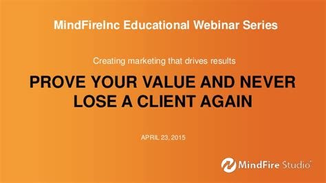 never lose a scrabble again webinar prove your value and never lose a client again