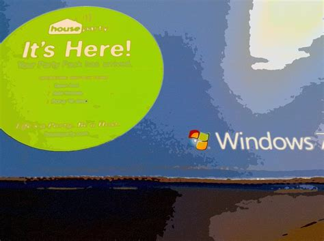 windows 7 house party have fun but don t break windows during microsoft s house party 5 minutes