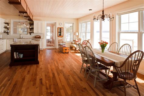 Cottage Flooring by Lake Dore Cottage Traditional Dining Room Ottawa By Gaylord Hardwood Flooring