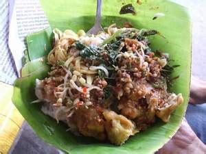 traditional food  east java pecel ponorogo