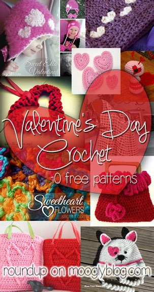 valentines day crochet patterns handmade with s day crochet