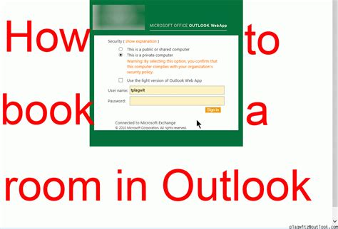 How To Reserve A Room In Outlook by Animated Gif August 2015
