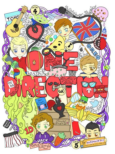 doodle one direction one direction doodle by automail04 on deviantart