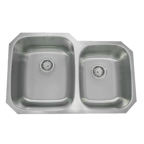 60 40 stainless steel undermount sink 32 quot stainless steel bowl undermount sink 60 40 py