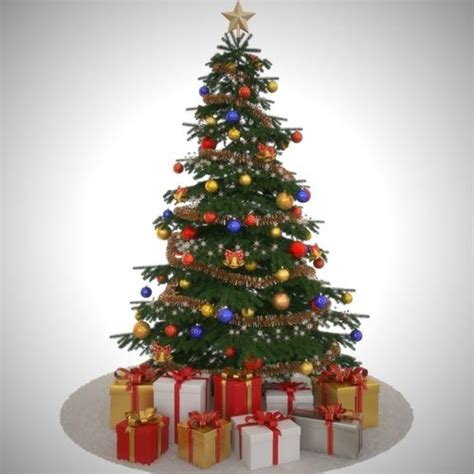 3d model christmas tree toy cgtrader