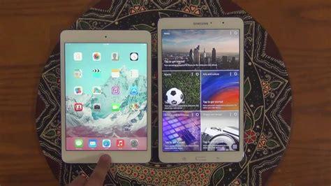 Samsung Galaxy Tab 4 Mini mini 2 retina display vs samsung galaxy tab pro 8 4 speed test comparison