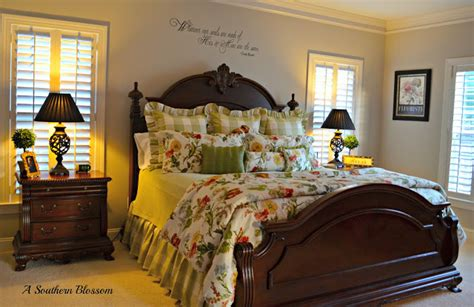 southern bedrooms a southern blossom home tour continued