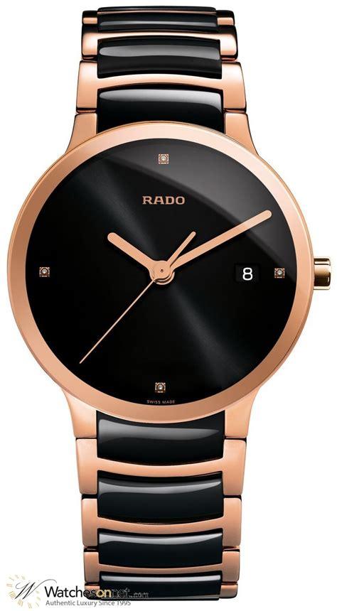 Hdl Quartz Watches Gold Intl rado centrix r30554712 unisex 18k gold plated quartz