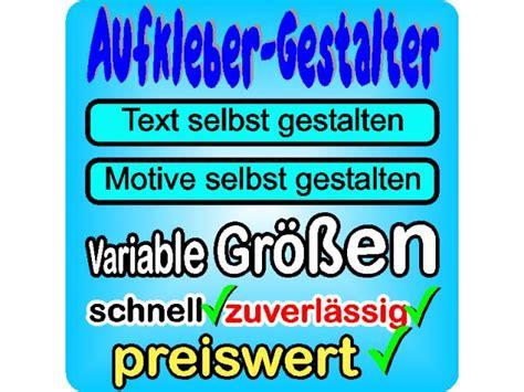 Aufkleber Selber Gestalten Online Bestellen by Motiv Aufkleber F 252 Rs Auto Online Gestalten Und Bestellen