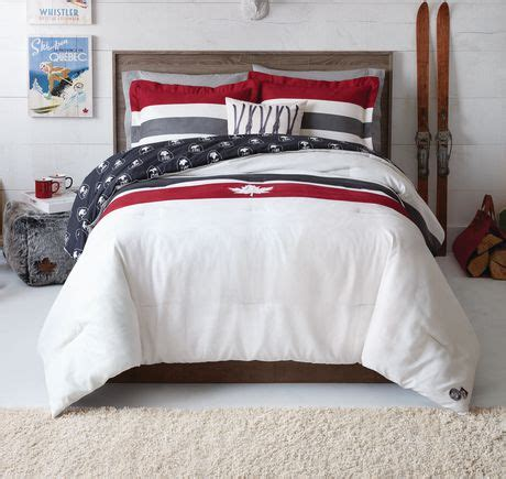 comforter sets walmart canada canadiana plaid 4 piece comforter set walmart canada