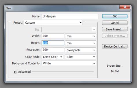 cara membuat undangan full color carasettingoffset cara membuat bingkai undangan full color