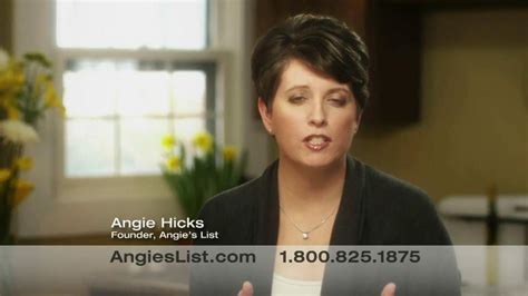 tv commercial actress list angie s list tv commercial finding a contractor ispot tv