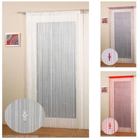 sparkly door curtains sparkle beaded string door window curtain fly screen ebay