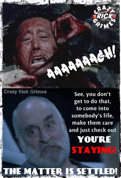 Glenn Walking Dead Meme - the walking dead the best memes and gifs from episode three