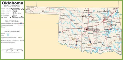 Arkansas State Map With Cities And Highways   Motorcycle