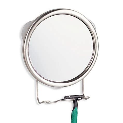 Interdesign 174 Suction Forma Shower Mirror Bed Bath Beyond Suction Bathroom Mirror