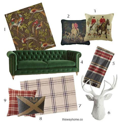 scottish home decor 25 best ideas about scottish decor on pinterest plaid