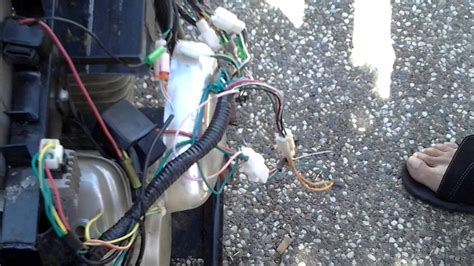 What Wires Do You Use To Hotwire A Car by Hotwire A 4 Wire Ignition For Mini Bike