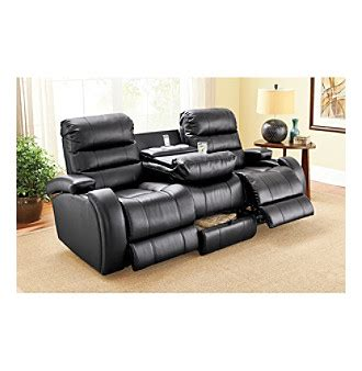lane power reclining sofa lane prime black power reclining sofa leather sectionals