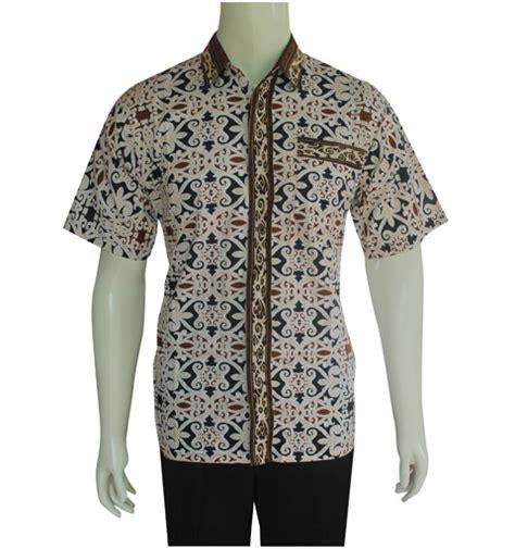 Hem Pendek Batik Batik Pria Kemeja Batik Batik Murah 1 hem batik pria modern hbd023 kemeja batik pria toko baju batik