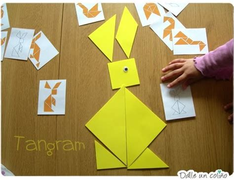 tangram cuadrado d 225 lle un 241 o tangran cuadrado