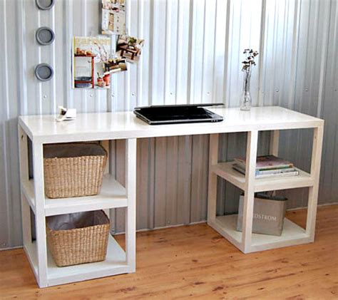 Diy Table Desk by 20 Diy Desks That Really Work For Your Home Office