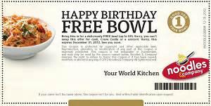 amazon black friday codes 2013 free bowl at noodles amp company coupons and freebies mom