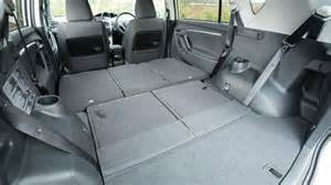 Toyota Verso Boot Space Toyota Verso Mpv Practicality Boot Space Carbuyer
