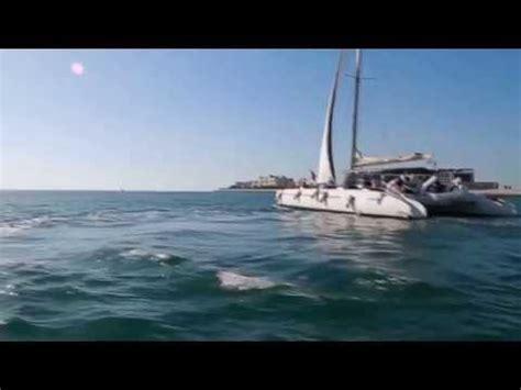catamaran dubai katamaran cruise dubai palmeninsel jumeirah youtube