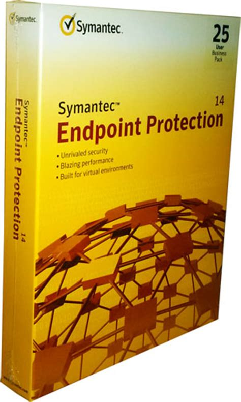 symantec endpoint protection 14 business pack 1 year 25