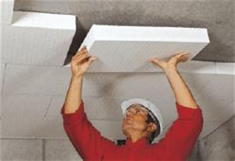 isolante termico per soffitti cappotto soffitto garage pannelli termoisolanti