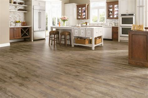 Brown Floor L by Armstrong Etched Light Brown Rustics Premium L6643