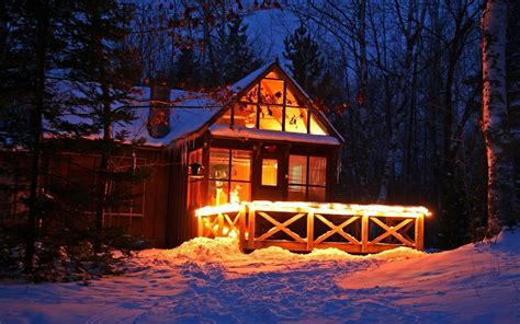 schnee hütte die 77 besten wald hintergrundbilder