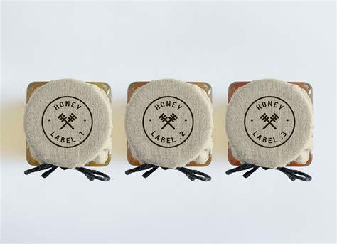 Design Own Wall Sticker free honey jar bottle mockup psd good mockups