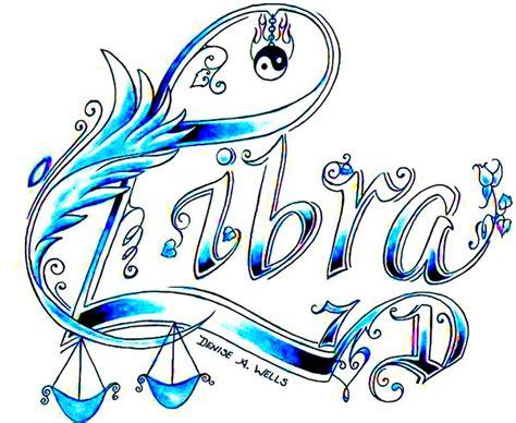 libra zodiac sign tattoo designs attractive libra zodiac sign tattoo design by allie dran
