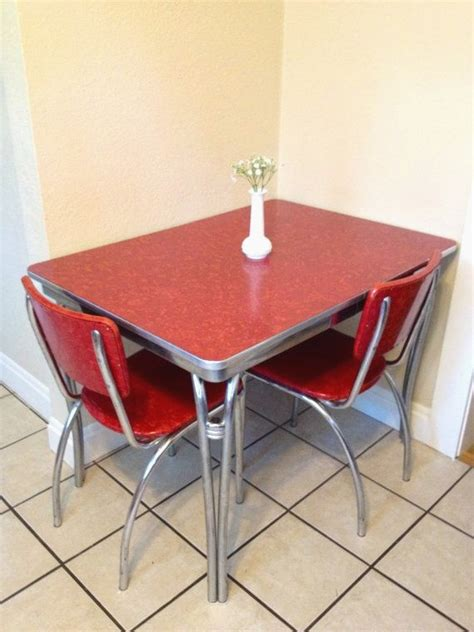 Retro Kitchen Tables Retro Kitchen Table Top Vintage 1950 S Formica And Chrome Kitchen Table Description From