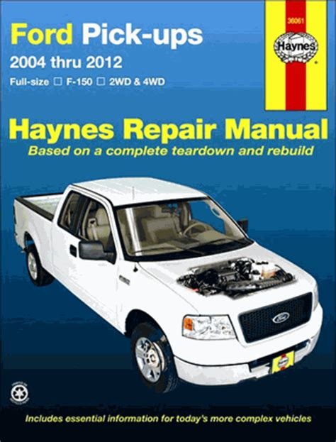 free auto repair manuals 2004 ford f150 on board diagnostic system ford f150 pickup truck repair manual 2004 2014 haynes 36061