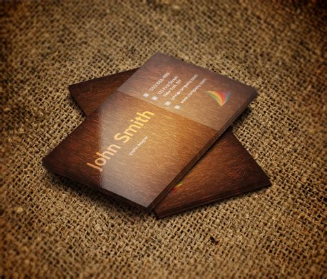 wood business card template freebies of the week stationary mockup obscura html