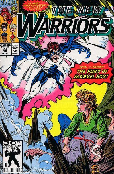 warriors jacob s volume 1 books new warriors vol 1 20 marvel comics database