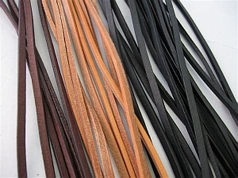 lange kerzenständer lederb 228 nder 2 meter lang mcevans lederhandwerk