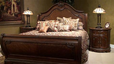 amini bedroom furniture veneto sleigh bedroom set by michael amini furniture