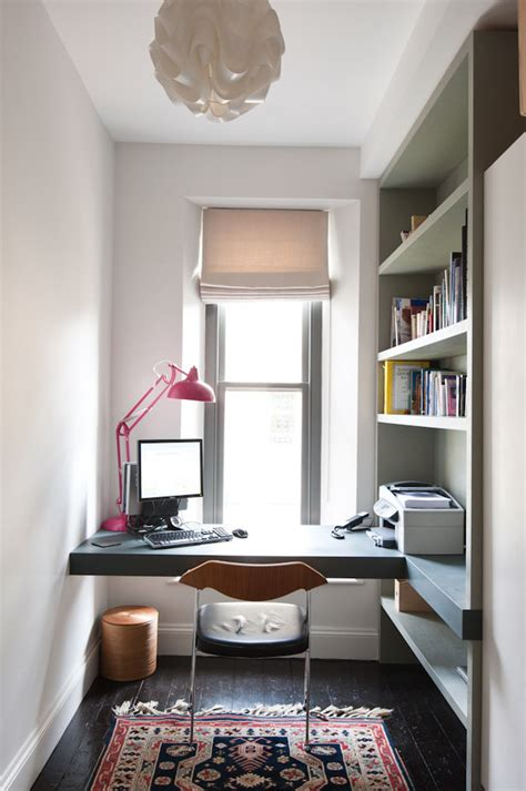 Compact Desk Ideas by 57 Cool Small Home Office Ideas Digsdigs