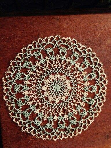 99 Best Tatted Doilies Images On Pinterest Tatting Lace