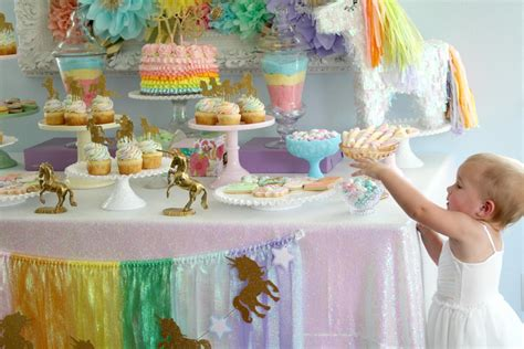 rainbows and sparkles birthday party ideas birthdays this unicorn party will make your eyes sparkle cricut