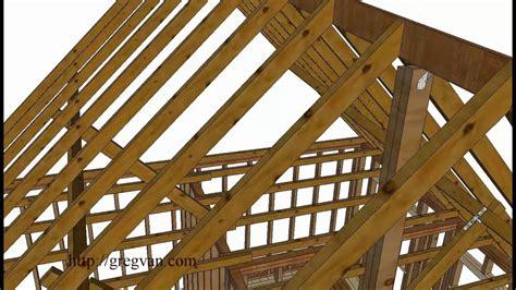 loft roof repair how to repair gaps in attic roof wood framing supports
