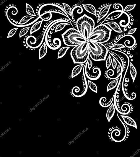 disegni di fiori bellissimi bellissimi fiori bianchi e nero monocromi e fogli isolati